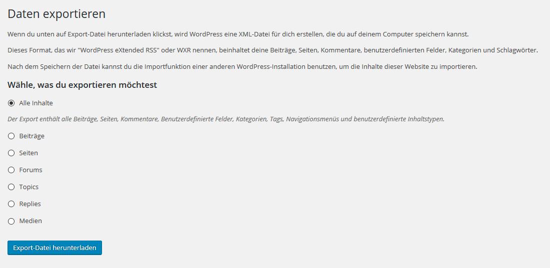 inhalte-der-wordpress-seite-exportieren-und-importieren-01