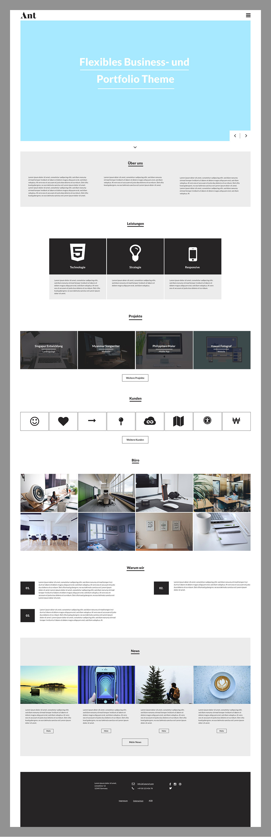 WordPress Theme von WordPress Bibel