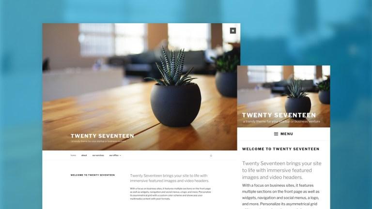 WordPress 4.7 - Das ist Neu 01