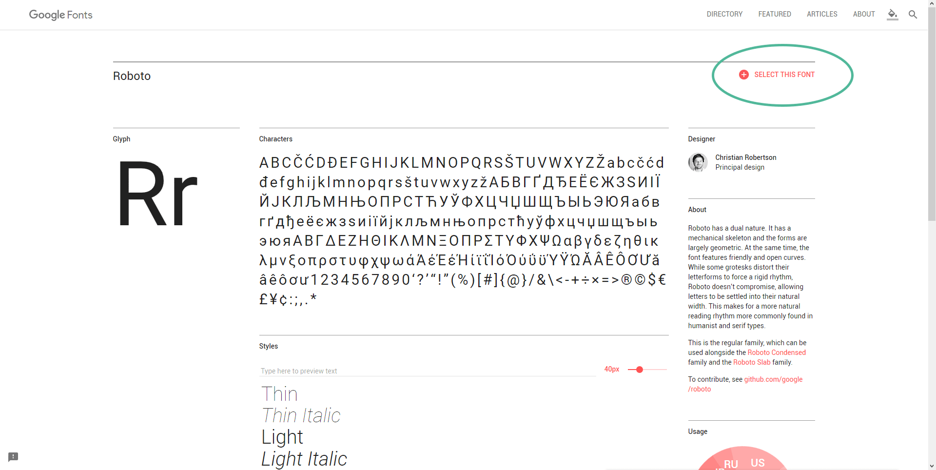 Google Fonts auf dem eigenen Webserver 01